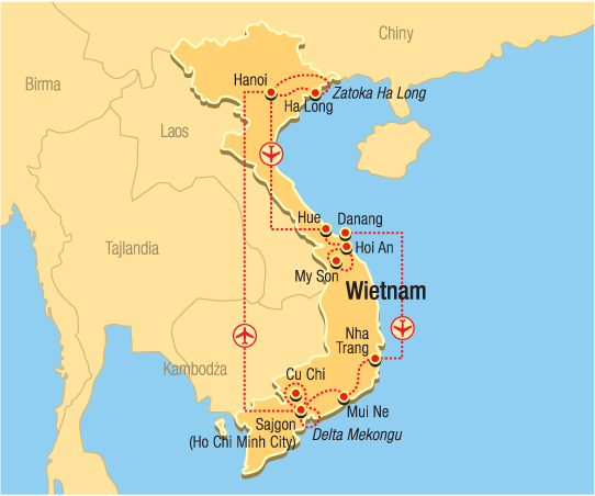 Good Morning Vietnam Z Rainbow : Good morning vietnam wietnam wycieczka opinie rainbow