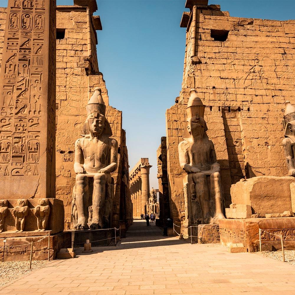 Луксор и храм Амона в Карнаке
