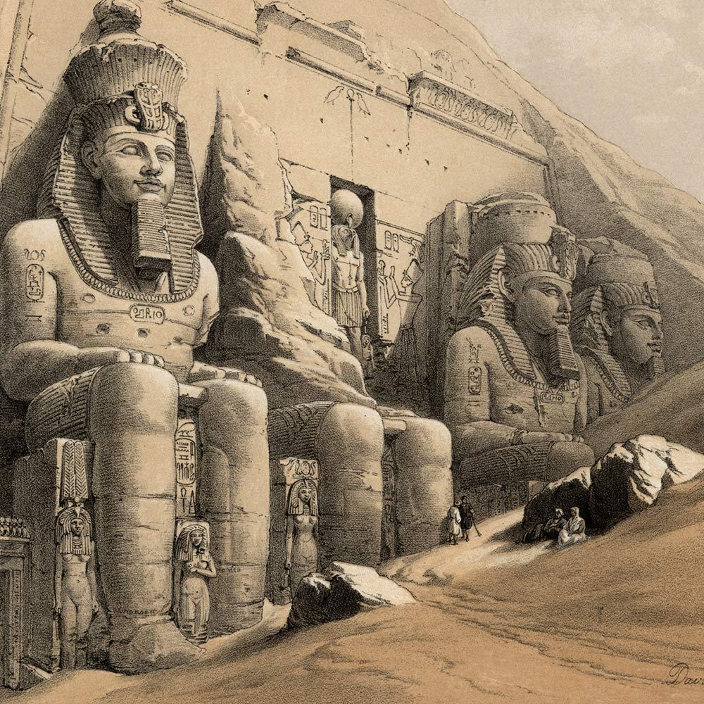 Храмы в Абу-Симбеле