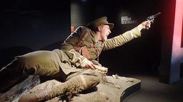 wystawa Gallipoli w muzeum w Wellington